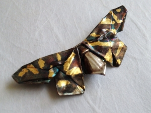July Concerto Butterfly Brooch
